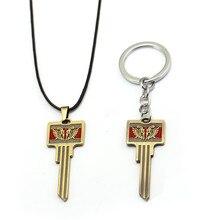 Горячая игра PUBG брелок pubg цинковый сплав ключ модель брелок держатель изнасилование цепи кулон порте скрипичный ключ для Для мужчин автомобиля для женщин сумка Ювелирные изделия