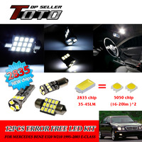 13x LED Car Interior Canbus Dome Map Reading Light White 2835 Chips Kit For Mercedes Benz