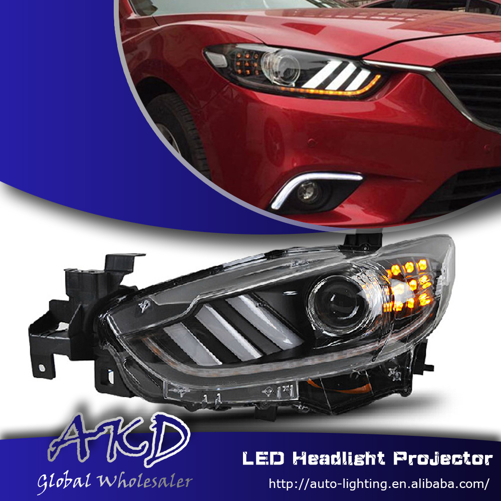 One Stop Shopping Styling For 2014 New Mazda 6 Led
