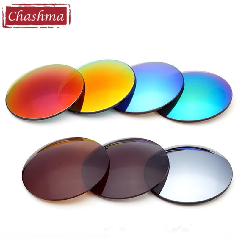 Chashma 1.50 Índice de Proteção UV Polarizada óculos de Sol Óculos de  Prescrição De Lentes Multifocais Óptica Lentes Progressivas 7e05afea9d