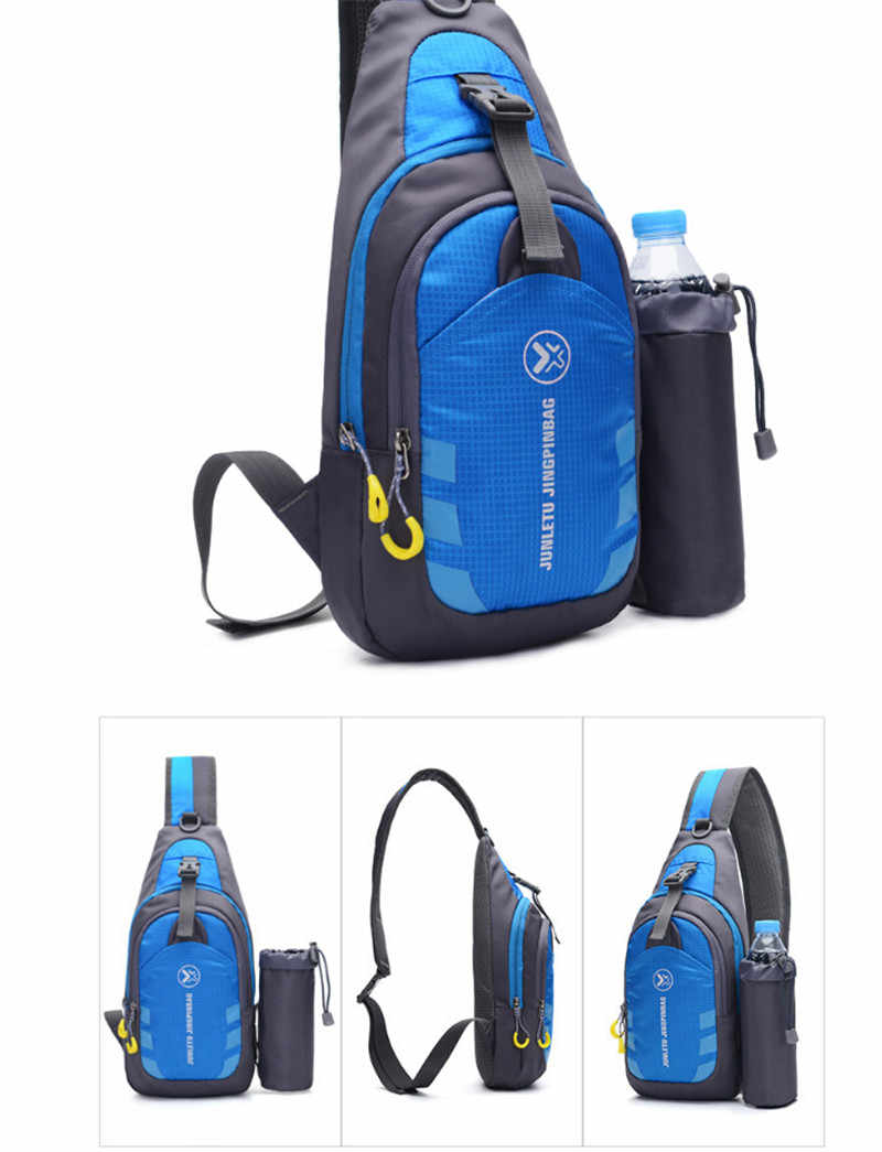NoEnName, Мужская и Женская водонепроницаемая маленькая нагрудная сумка, сумка для путешествий, спортивный рюкзак на плечо, сумки через плечо, подарок