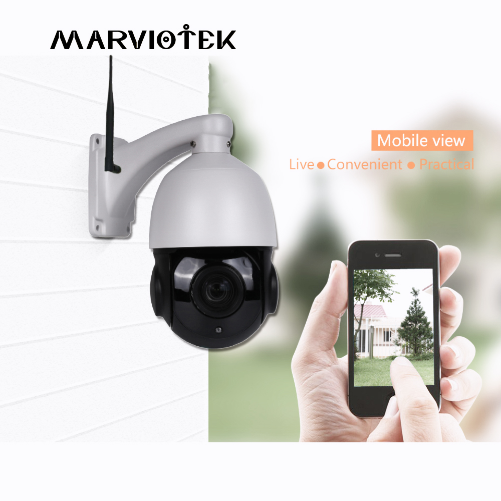 mini Speed Dome IP Camera Outdoor PTZ Camera Wireless IP66 Waterproof Onvif HD 960P Wifi Home Security Camera Wi-fi Mini Cam agm 10m copper wire led string light garland 100led battery fairy light for christmas new year home decoration festival decor