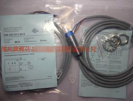 Original new 100% fine quality new sensor proximity switch DW-AD-513-M18 bi5 m18 liu m18 proximity switch sensor 100
