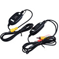 Auto Car Reverse Rearview Back Up Camera Wireless Kit Dec07
