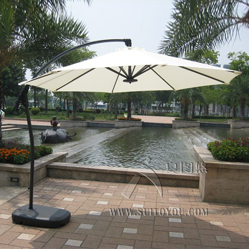 aluminum outdoor umbrella compare prices on hanging outdoor umbrella online shoppingbuy