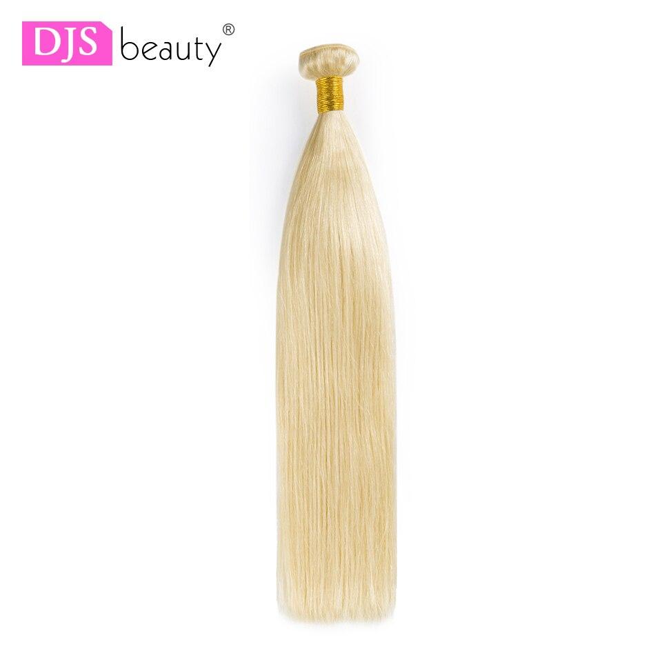 Haarverlängerung Und Perücken Sporting Djs Schönheit Haar 7a Reines Haar Brasilianische Haarwebart Bundles 1/3 Pcs Gerade #613 Blonde Menschliches Haar Erweiterung Kostenloser Versand Haarsalon Versorgungskette