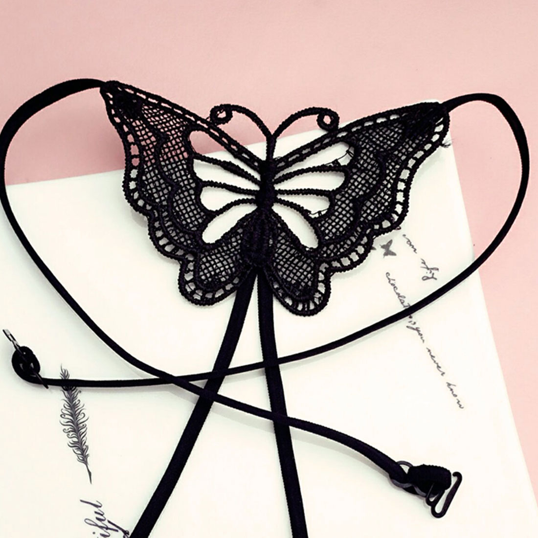 Best Sexy Women Adjustable Back Bra Straps Cross Back Butterfly Simple Thin Shoulder Strap Bow Invisible Underwear Belt