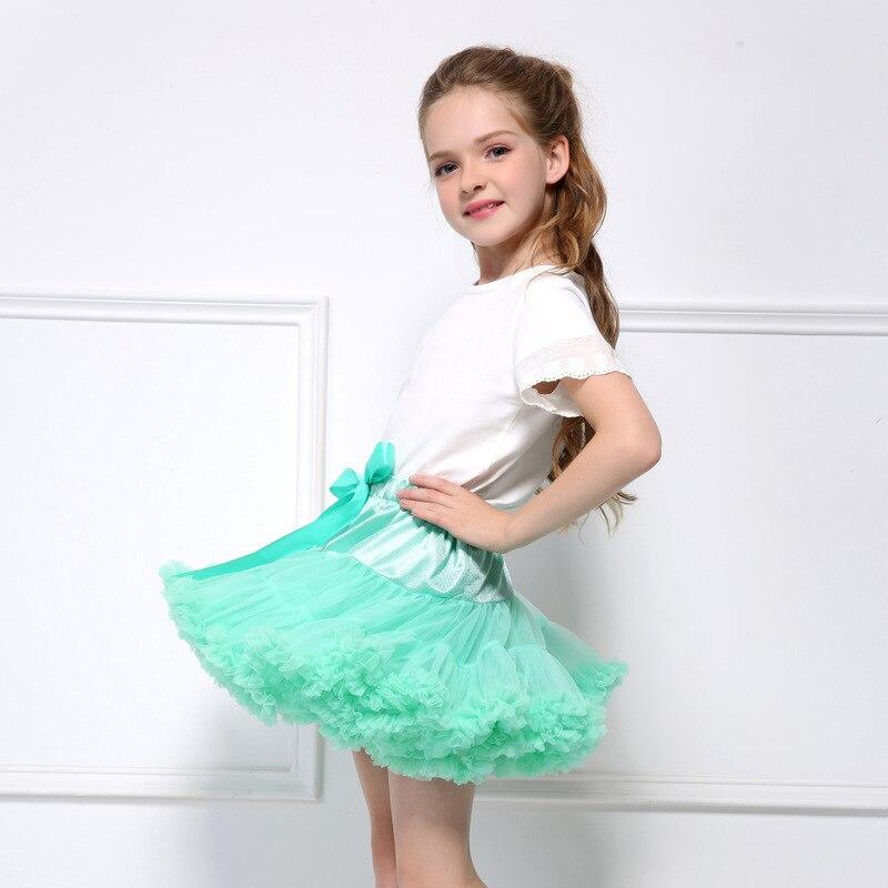 Chaffare Basic Girls Spódnice Dzieci Fluffy Pettiskirt Baby Girl - Ubrania dziecięce - Zdjęcie 3