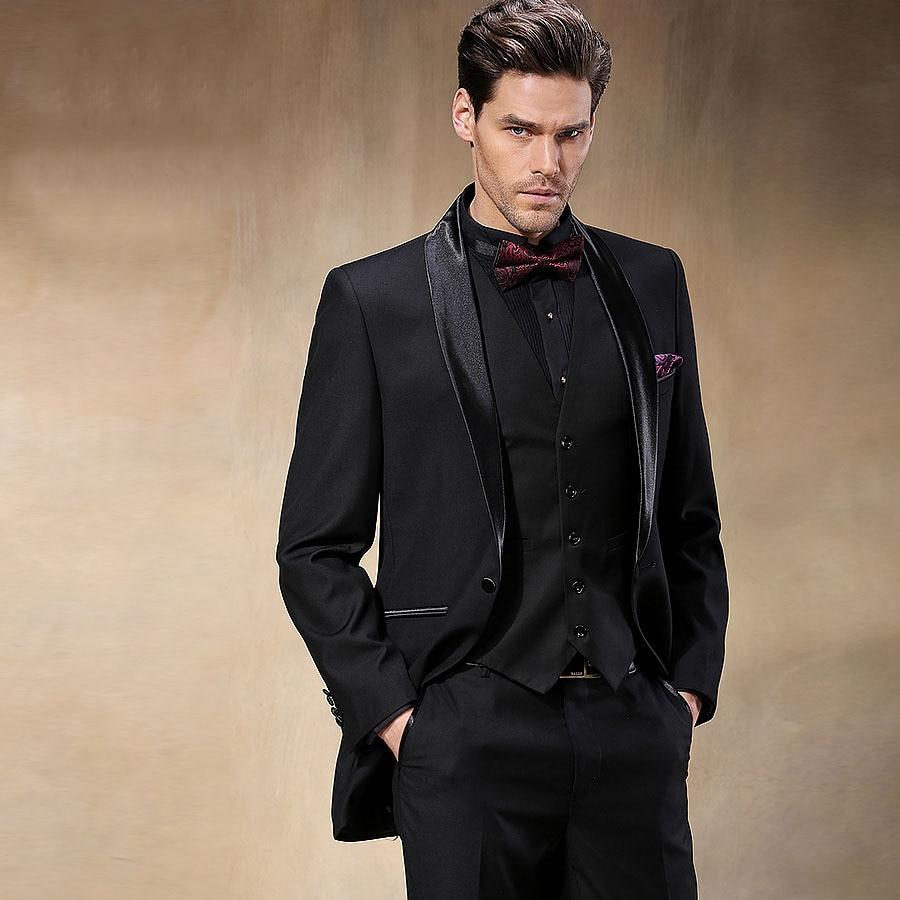 100% satisfaction guarantee good service great quality Groom Wear Tuxedos Groomsmen Wedding Suits Men's Party Suit ...