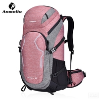ANMEILU Outdoor Camping Backpack Mountaineering Travel Backpack Hiking Backpacks Climbing Hunting 50L Backpacks Free Water Cover