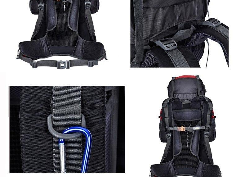de viagem unisex multi-purpose escalada mochilas caminhadas