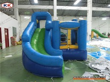 Inflatable Bouncer With Slide For Kids Commercial Bouncy with slide for kindergarten outside or inside toys