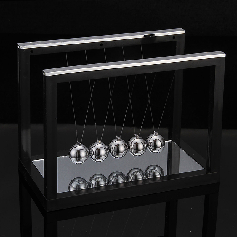 2019 New Newtons Cradle Steel Balance Ball Fun Decoration Physics Science Toy Gift