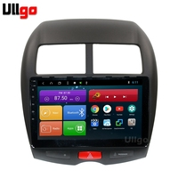 10.1 inch Octa Core Android 8.1 Car DVD GPS for Mitsubishi ASX Peugeot 4008 Citroen C4 Aircross Autoradio GPS Car Head Unit Navi