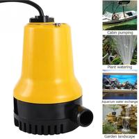Household Submersible Water Pump Clean Clear Dirty Pool Pond Flood 12V 65W High Aecurity Low Noise Pump Fountain