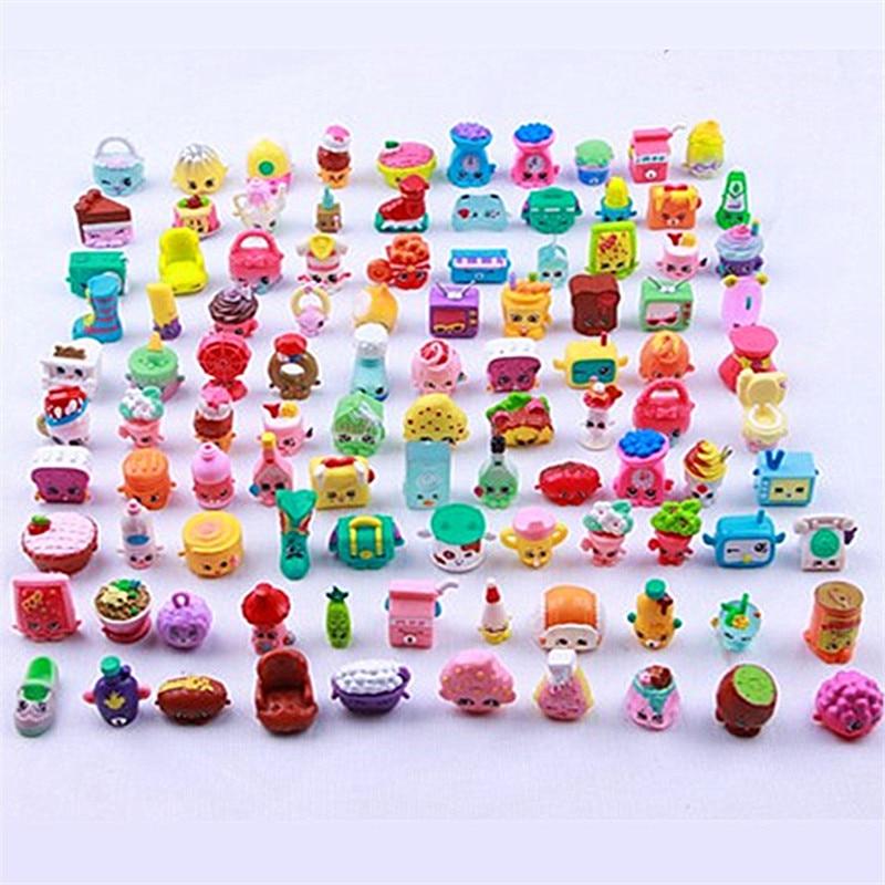Wholesale 300pcs Girls Love Play mix Mini Furniture Food Fruit Model Dolls lol Shop Family season