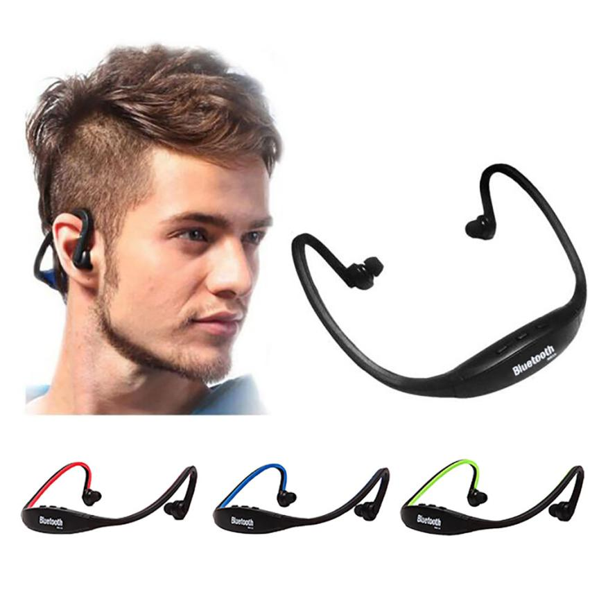 overmal Portable sporty exterior design Wireless Bluetooth Music Sports Stereo Headset Headphone for iPhone enjoy music