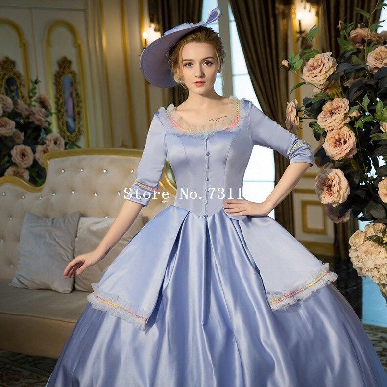 bf161838de1f76 Nieuwe Collectie Blauw Rococo Barokke Marie Antoinette Baljurk 18th Eeuw  Renaissance Historische Periode Jurk Voor Vrouwen Aangepaste in Nieuwe  Collectie ...