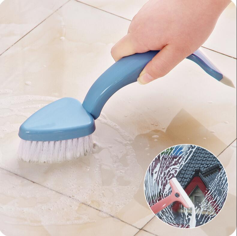 Multifunctional Bathroom Tile Window Cleaner Scraper Wall Floor Cleaning  Brush in Cleaning Brushes from Home   Garden on Aliexpress com   Alibaba  Group. Multifunctional Bathroom Tile Window Cleaner Scraper Wall Floor