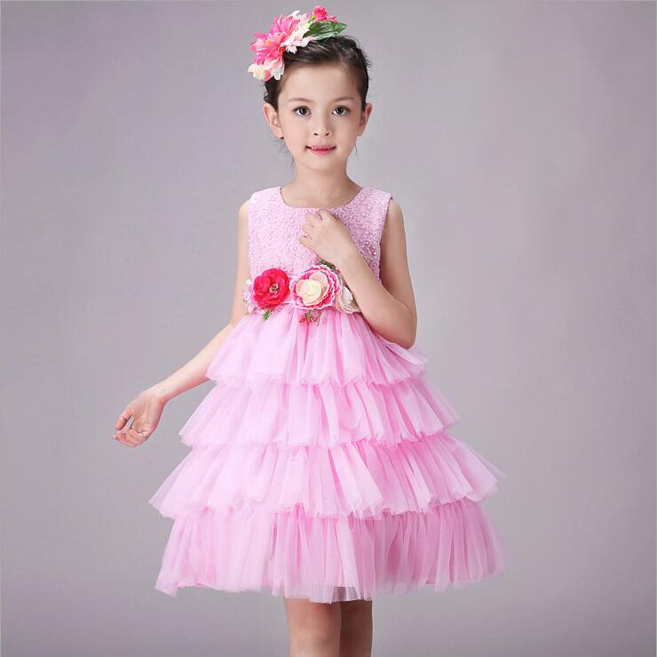 Girls sequins party princess dress Children's Day Gift Tutu flower dress Kids Layers Fluffy Ball Gown for wedding and birthday princess flower girls tutu dress with lace straps girls evening dress for birthday party wedding flower ball gown handmade dress