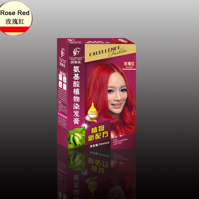 كيفية صباغة الشعر باللون الأحمر
