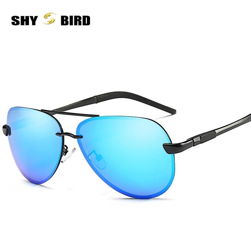 SHYBIRD Sunglasses Men Polarized Driving Sun Glasses Mens Sun Glasses For Male Accessories Cool Oculos De Sol Masculino 8761