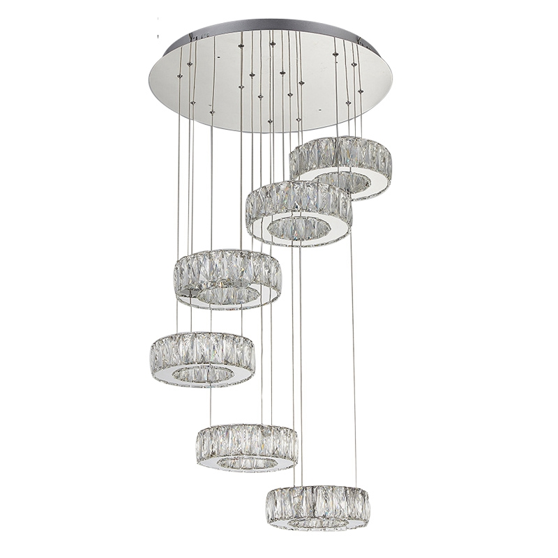 Us 405 0 Art Deco Chandelier Modern Crystal Lights Lighting Chandeliers Contemporary Led Best For Lining Room Free Shipping In