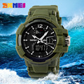Watches Men 2016 Luxury SKMEI  Men's Business Quartz Wristwatch Gifts Waterproof Military Men Sports  Swimming Watches