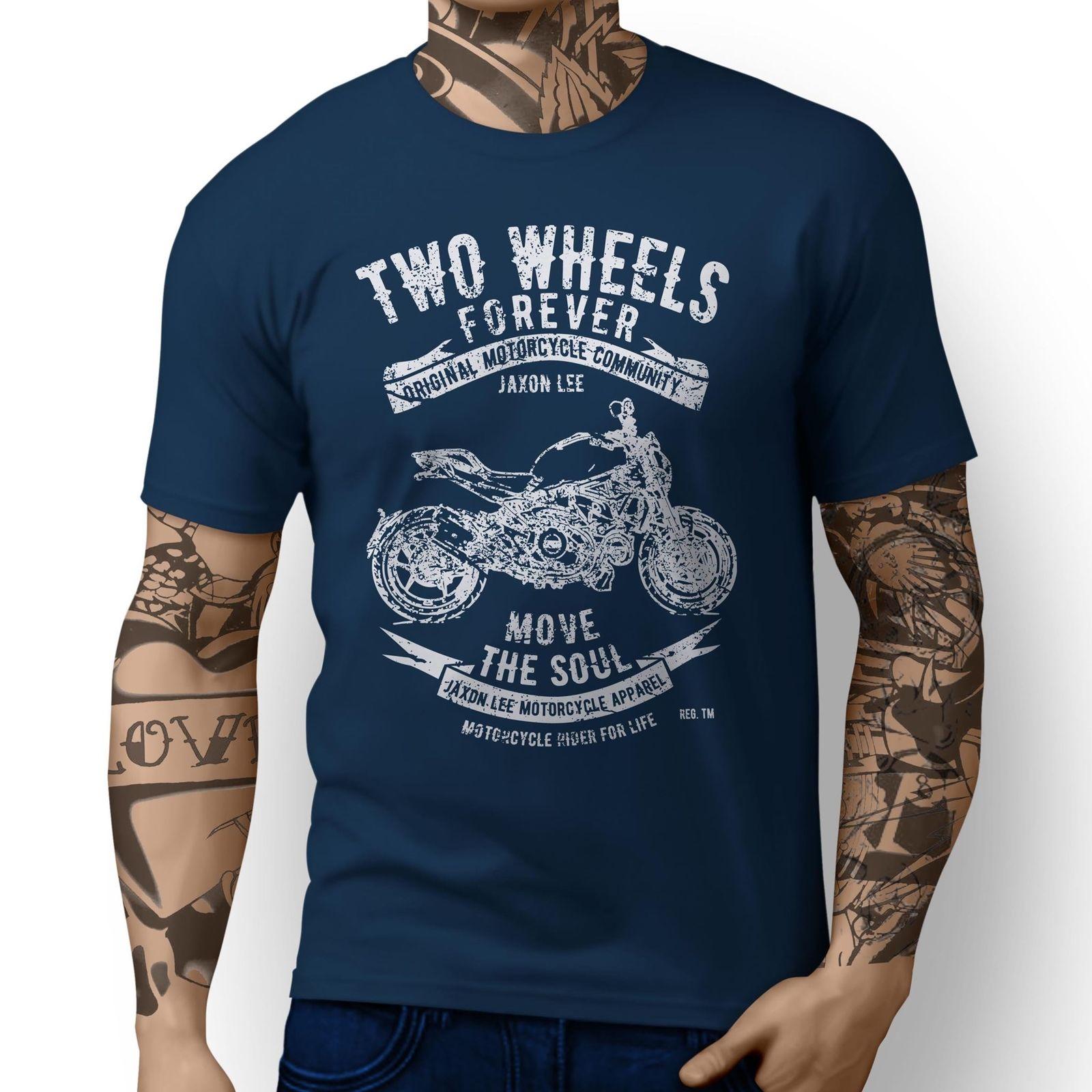 2018 Short Sleeve Cotton Man Clothing Tops Tshirt Homme Monster 1200S Inspired Motorcycle Fan Artt Shirt Sale T-shirt