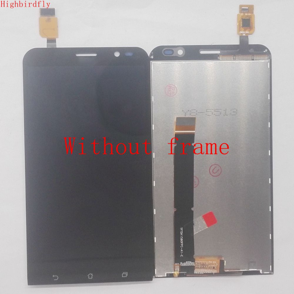 Highbirdfly For <font><b>Asus</b></font> Zenfone Go TV TD-LTE ZB551KL <font><b>X013d</b></font> Lcd Screen Display +Touch Screen Digitizer Glass assembly Repair lcds image