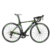 RichBit New Road Race Bicycle 18 Speeds 9 Gears Cassette Ultra Light Weight Carbon Fiber Fork Shimano 3500 700C*46/48cm Frame