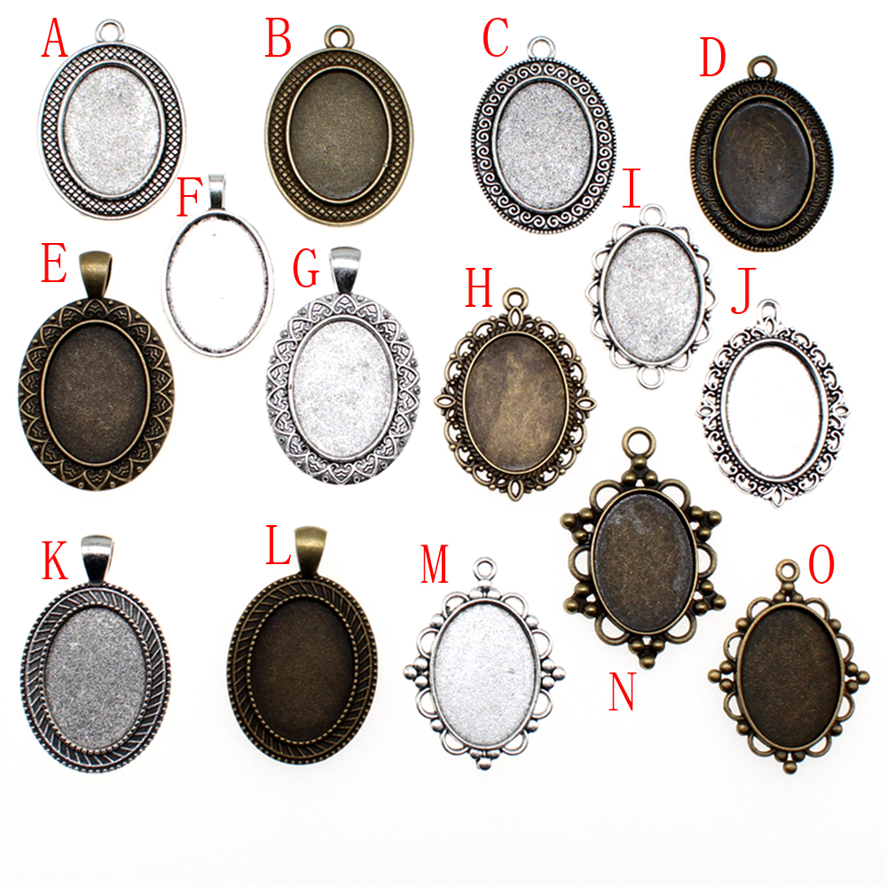 1 Piece 18x25mm Round Glass Cabochon Base Setting Pendant Tray For Jewelry DIY Making beads for jewelry material1 Piece 18x25mm Round Glass Cabochon Base Setting Pendant Tray For Jewelry DIY Making beads for jewelry material