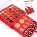 MISS ROSE Pro 60 Colores de Maquillaje Paleta Set Mate Impermeable Sombra de Ojos En Polvo Ceja Paleta de Colorete Cosméticos Kit Maquiagem