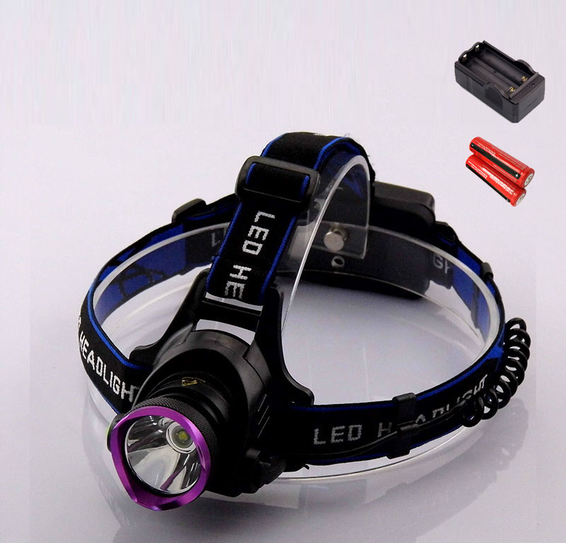 XM L T6 CREE Headlamp LED Headlight T6 LED Head lamp 2000 Lm LED Head Light