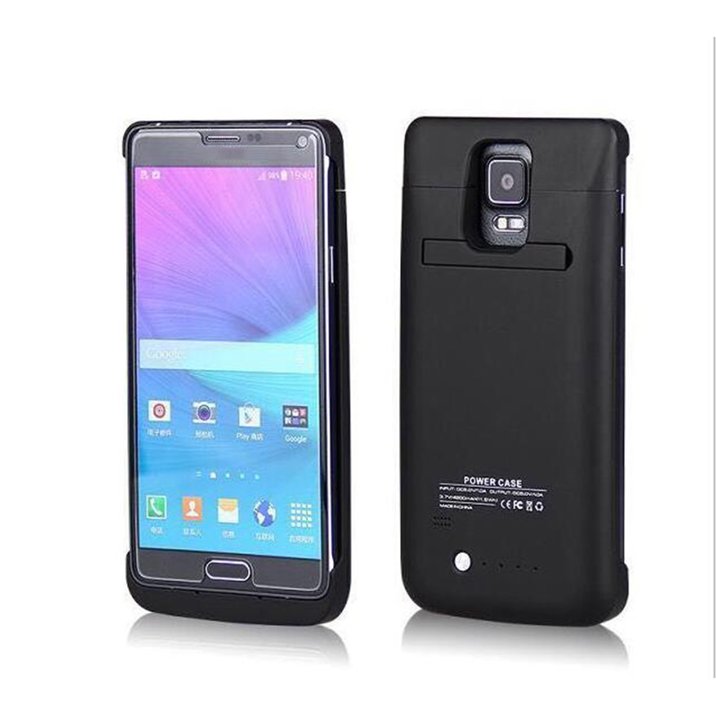 promo code b927f cde00 For Samsung Galaxy Note 4 N9100 Battery Cases 4800mAh External Battery  Charger Case with Stand for Samsung Galaxy Note 4 -in Battery Charger Cases  ...