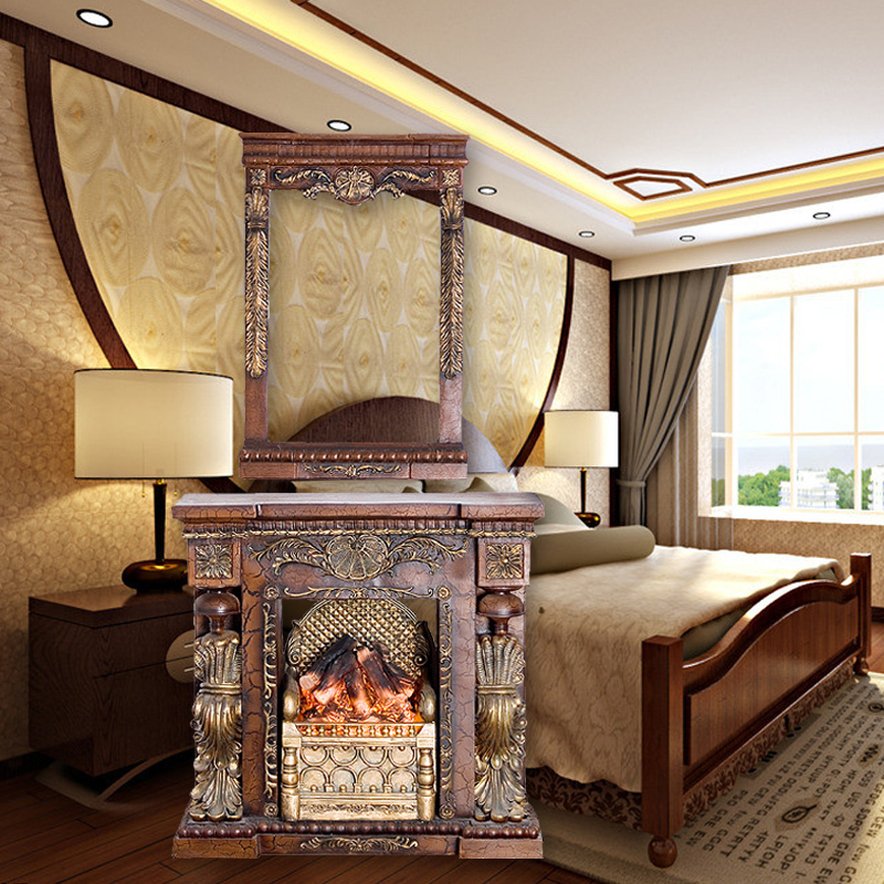 European Princess Dresser Classical Electric Fireplace