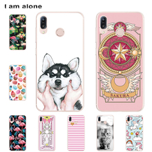 I am alone Phone Case For Asus Zenfone Max M1 ZB555KL 5.5 inch Soft TPU Bag Mobile Fashion For Asus Max M1 ZB555KL Free Shipping banana pi m1 bpi m1 open source development board in stock free shipping