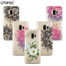 UTOPER Lace Flower Cases For Vkworld S8 Case Silicone Cover For Vkworld Mix Plus Coque For Vkworld-S8 Capa For Vkworld S8 Case(China)
