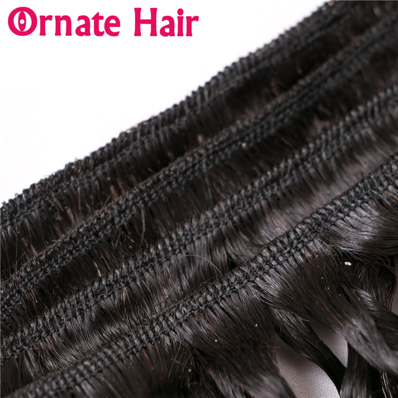 Ornate Brazillian Straight Hair Weave Bundles Human Hair Extensions 8-24 Inch Non Remy Hair Weave 3 Bundles Deals Can Be Dyed