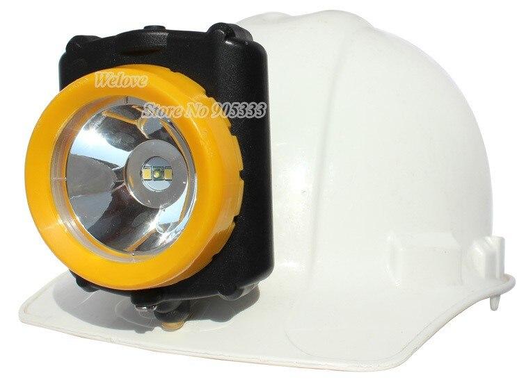 Lampă cu acumulator fără fir 3W Timp de ardere lungă pentru vânătoarea minieră Camping Light Free Shipping