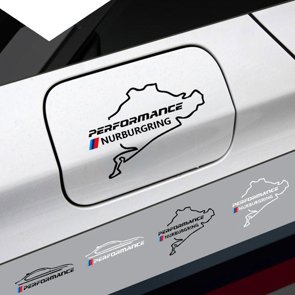 Наљепница за аутомобил Нев Стиле наљепница за гориво Рацинг Роад Нурбургринг за БМВ е46 е90 е60 е39 ф30 ф34 ф10 е70 к3 к4 к5 к6 ф22 ф20 ф32 ф36