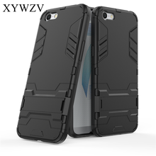 цена на For Cover OPPO A71 Case Silicone Robot Hard Rubber Phone Cover Case For OPPO A71 Cover For OPPO A71 A33 Coque XYWZV
