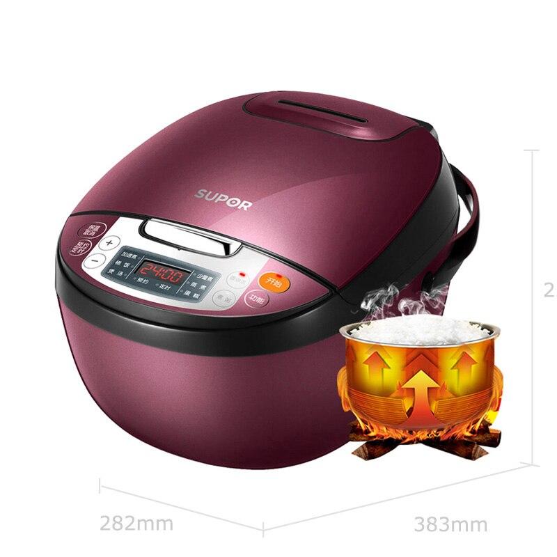 Интеллектуальная Электрическая рисоварка IH Heaating 4L, подходит для 5 6 человек, многофункциональная машина для приготовления риса