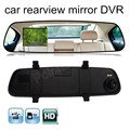 2016 New  HD 1080P 2.4 inch Video Recorder Dash Cam Rearview Mirror Car Camera DVR night vision 120 degree wide viewing angle