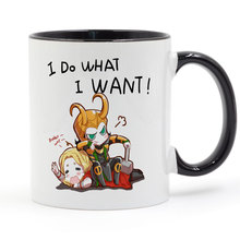 I do what i want thor loki Mug Coffee Milk Ceramic Cup Creative DIY Gifts Home Decor Mugs 11oz T1036