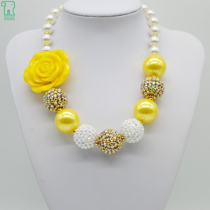 Girls chunky yellow flower necklace white gold kids bubblegum beads girls chunky yellow flower necklace white gold kids bubblegum beads choker child pearl jewelry girls chunky flower necklace on aliexpress alibaba mightylinksfo