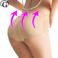 Women Seamless Shaper Shapewear Tummy Control Butt Lifter Padded Panies Enhancing Body Shaper Hip Up Fake