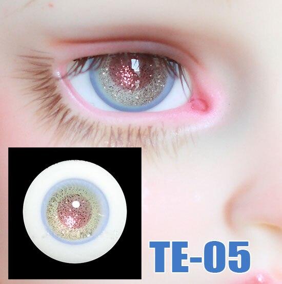 Doll Reborn Eyes Layered Striped Glass Eyes For 1/3 1/4 1/6 BJD SD DD MSD MDD YOSD Doll Eyes Hand Made Glass Eyes TE-05
