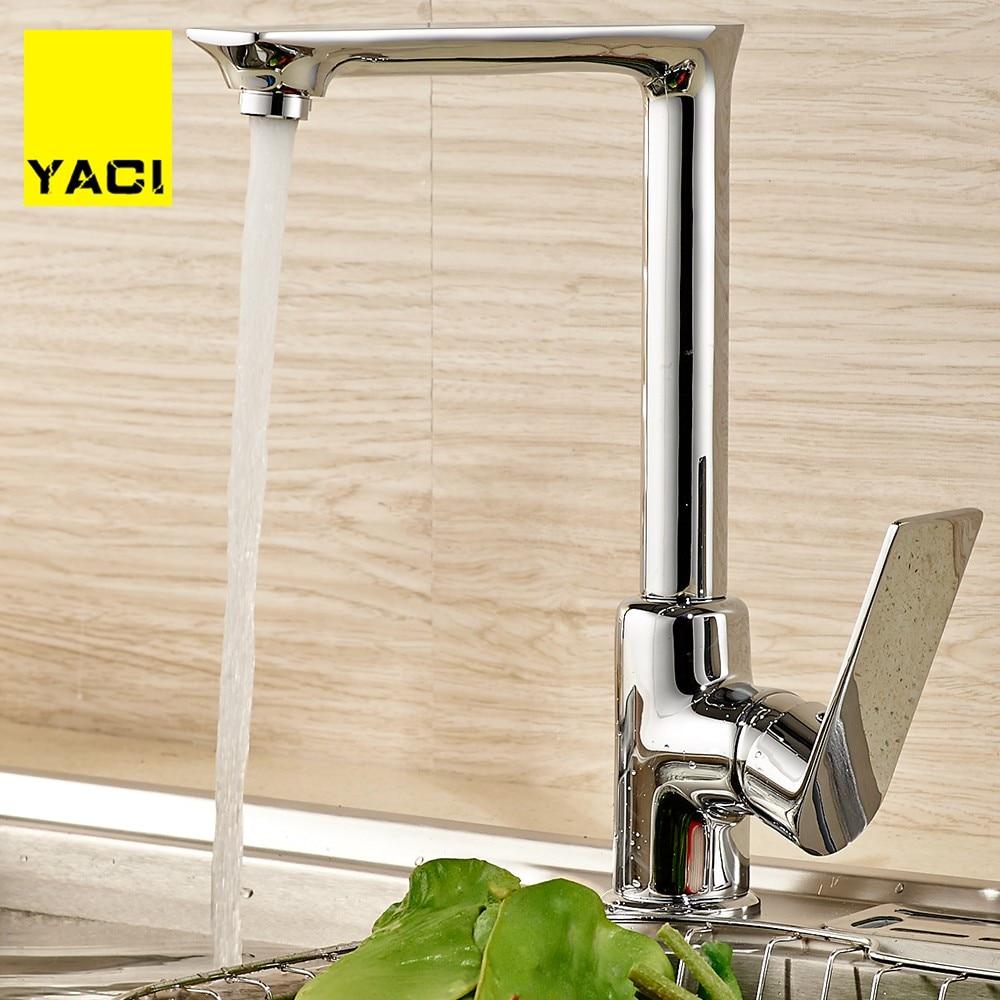 Kitchen Sink Faucet Ceramic Spool Cocina Cabeza DE Grifo Five Colors Optional Black Gold Kitchen Faucet Torneiras