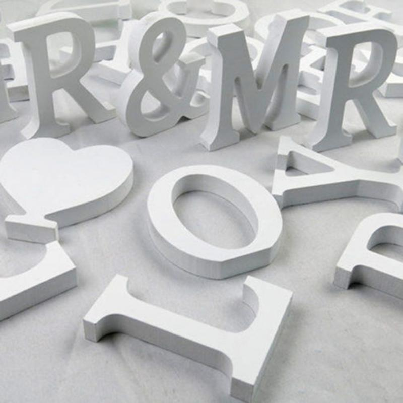 Home Decoration Accessories  Creative Letters Alphabet Word Bridal Wedding Party Christmas Valentine Day Festival Home Decor